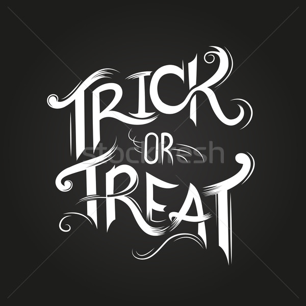 Trick Or Treat? Stock photo © solarseven