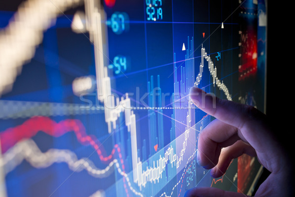 Stock Market Data Stock photo © solarseven