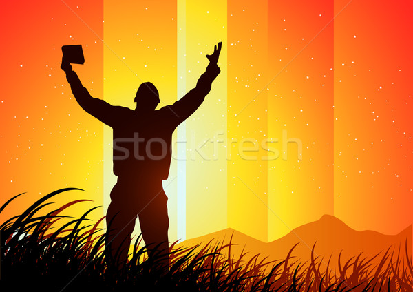 Freedom and Spirituality Stock photo © solarseven