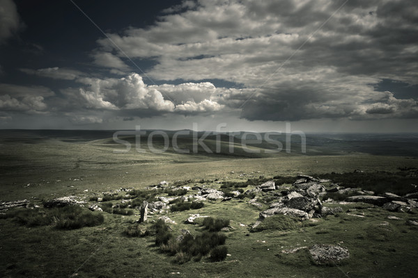 Dramatic Wild Moorlands  Stock photo © solarseven