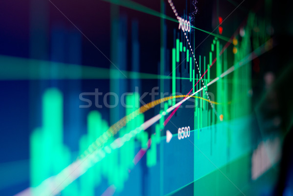 Stock Chart Data Stock photo © solarseven