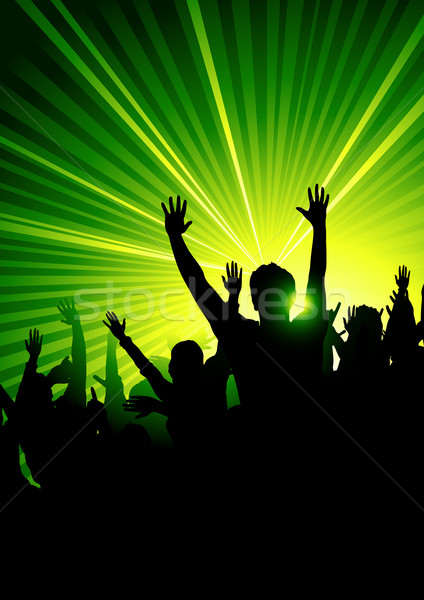 Energetic Dance Crowd Stock photo © solarseven