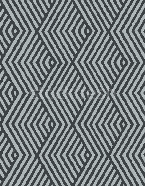 Seamless Vector Geometric Pattern Stock photo © solarseven