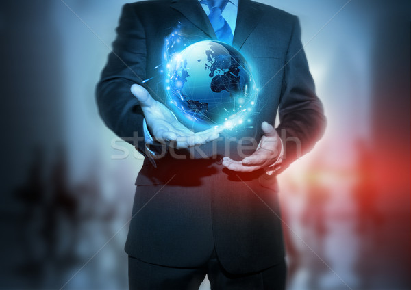 Global Communication Stock photo © solarseven