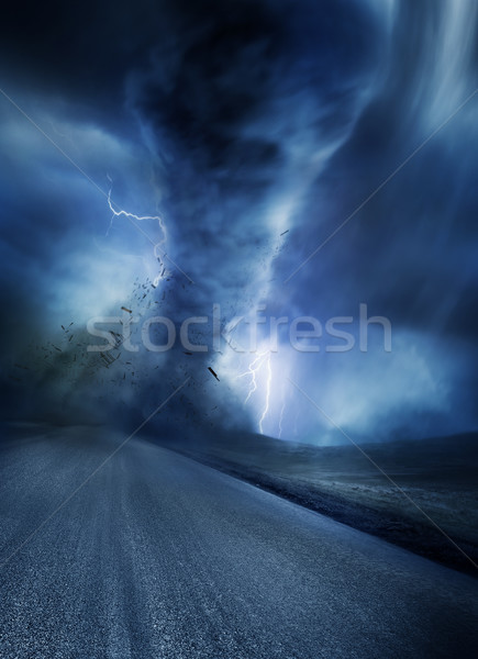 Powerful Twister Stock photo © solarseven