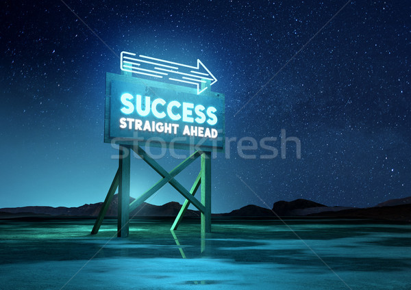 Sign Of Success Stock photo © solarseven