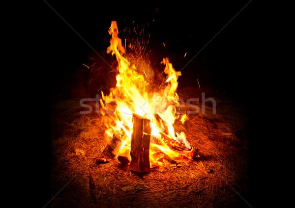 Camp Fire Stock photo © solarseven