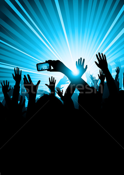 Stock photo: Music Concert Audience