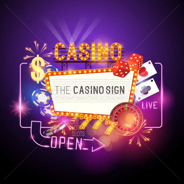 Casino Party Vector Stock photo © solarseven
