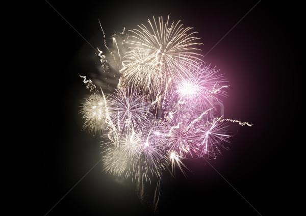 Firework Rocket Display Stock photo © solarseven