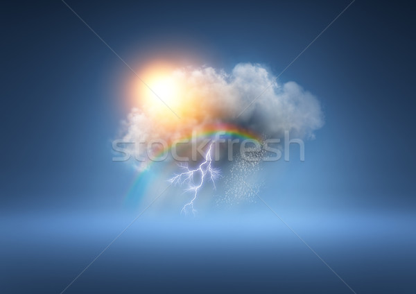 All Weather Cloud Stock photo © solarseven