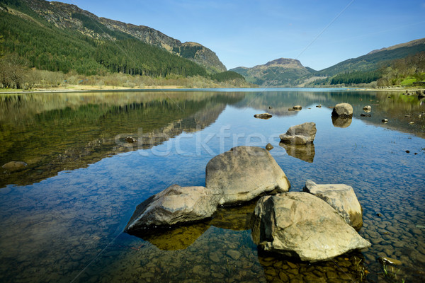 Lake Landscape, Scotland - Highlands Stock photo © solarseven