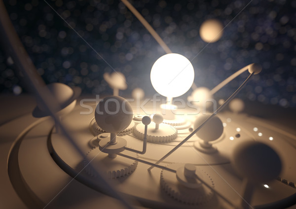 Planetarium Model Stock photo © solarseven