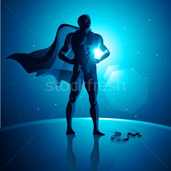Global Superhero Stock photo © solarseven