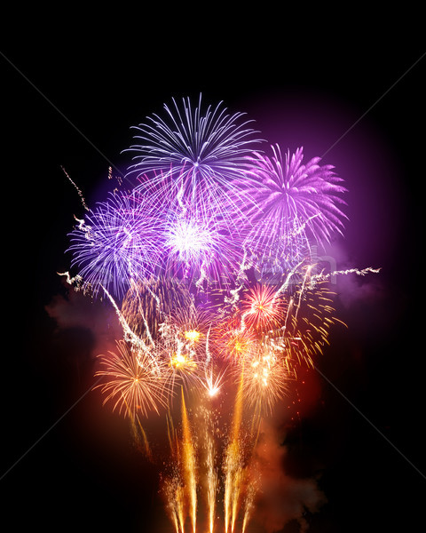 Large Fireworks Display Stock photo © solarseven