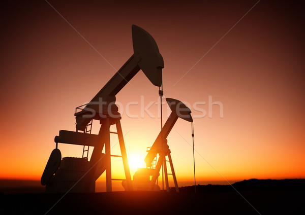Oil and Energy Industry Stock photo © solarseven