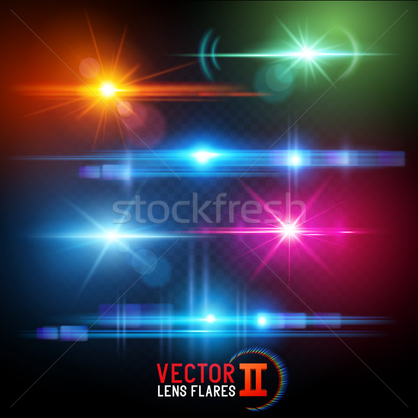 Vector Lens Flare Effects Stock photo © solarseven
