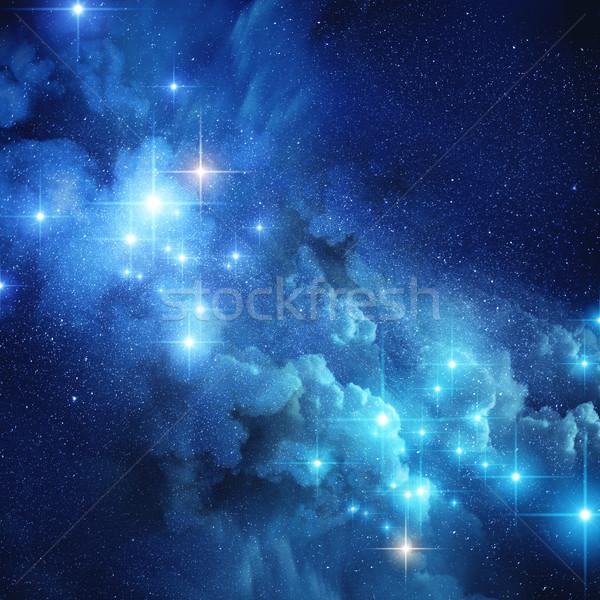 Bright Distant Stars Stock photo © solarseven