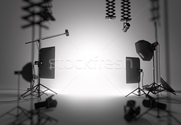 Blank Photography Studio Stock photo © solarseven