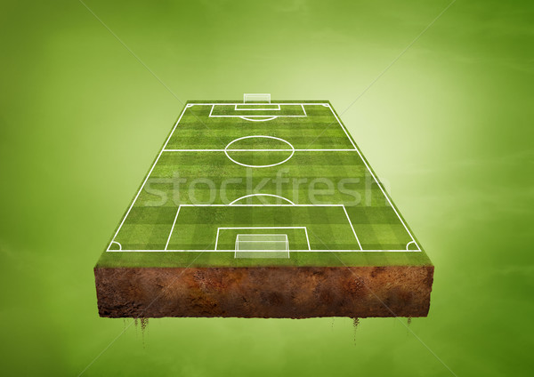 Football Pitch Stock photo © solarseven