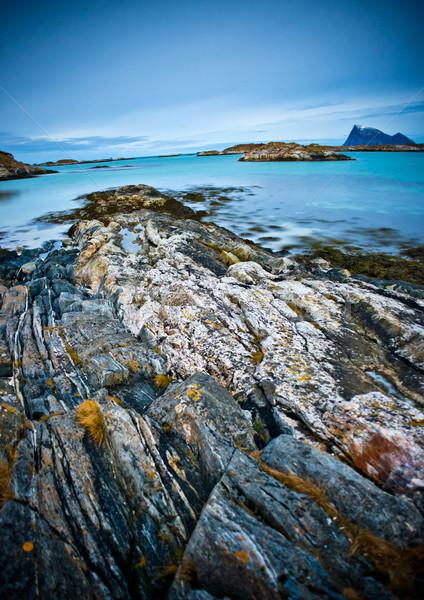 Northern Norway Coastline Stock photo © solarseven