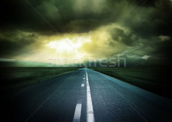 Stock photo: New Horizons