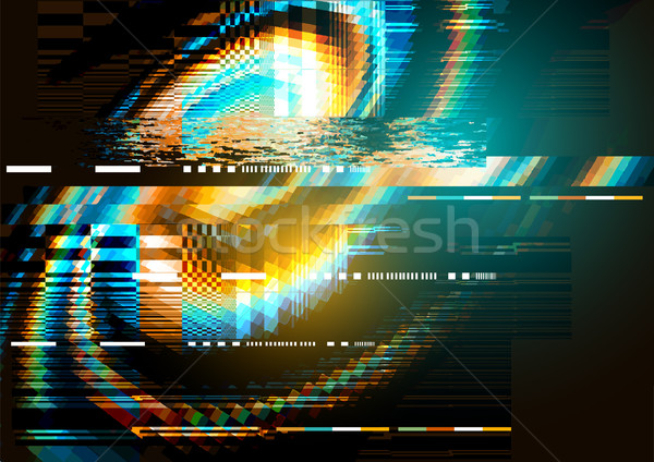 glitch noise distortion texture Stock photo © solarseven