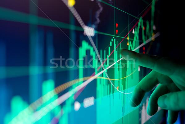 Financial Stock Market Data Stock photo © solarseven
