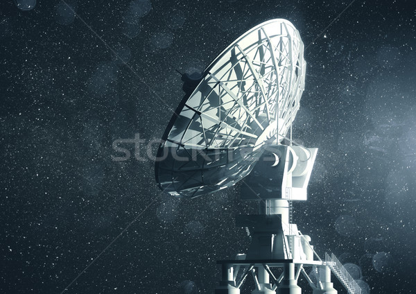 Radio Telescope Communications Stock photo © solarseven