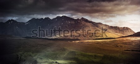 Mountain range on the Isle of Skye, UK Stock photo © solarseven