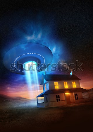 Modern Nuclear Explosion Stock photo © solarseven