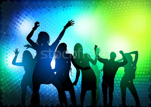 Party persone dancing musica donne dance Foto d'archivio © solarseven