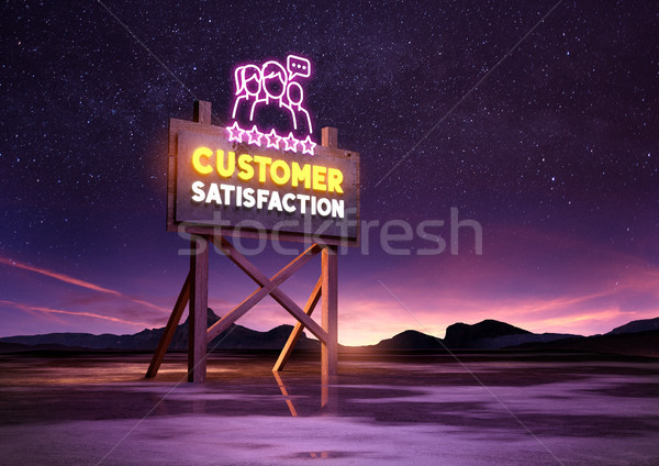 Customer Satisfaction Concept Stock photo © solarseven