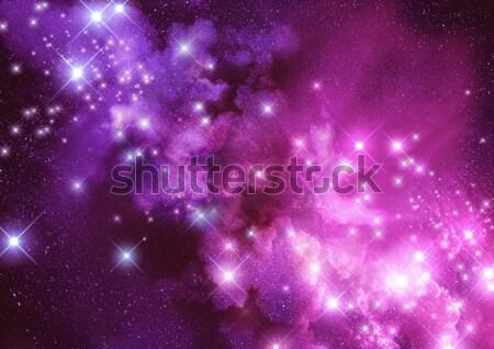 Maravilha espaço distância estrelas nebulosa poeira Foto stock © solarseven