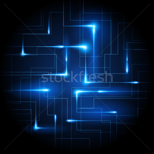 Business Connected Vector Stock photo © solarseven