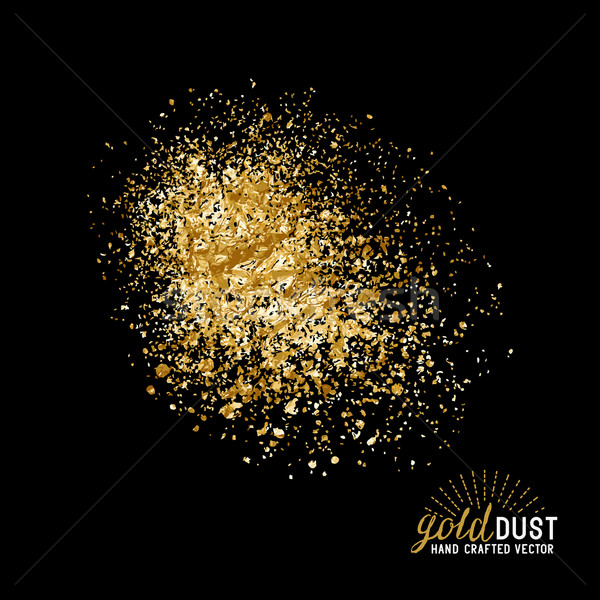 Vector Gold Dust Stock photo © solarseven