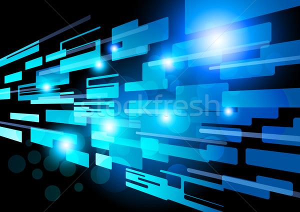 Résumé réseau vecteur design eps10 lumière Photo stock © solarseven