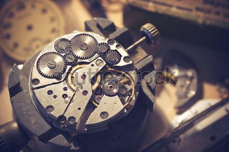 Old Watchmaker Studio Stock photo © solarseven