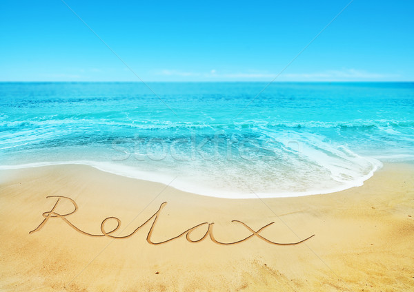Relaxing Beach Stock photo © solarseven