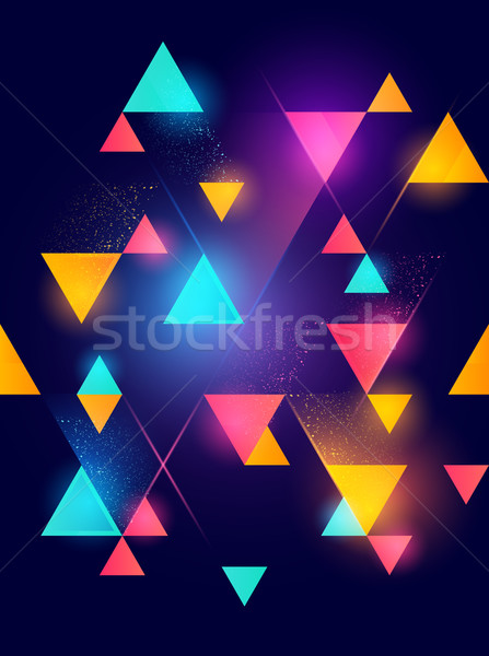 geometric pattern background Stock photo © solarseven