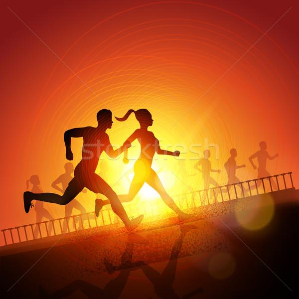 Keep Running Stock photo © solarseven
