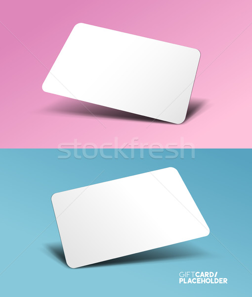 Gift Card placeholder Stock photo © solarseven