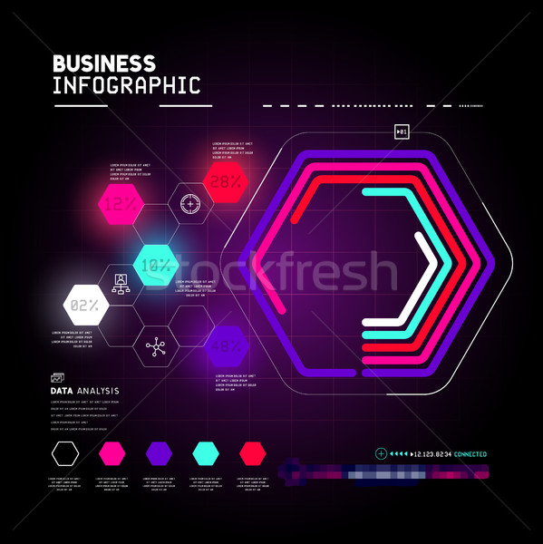 Infographics Stock photo © solarseven