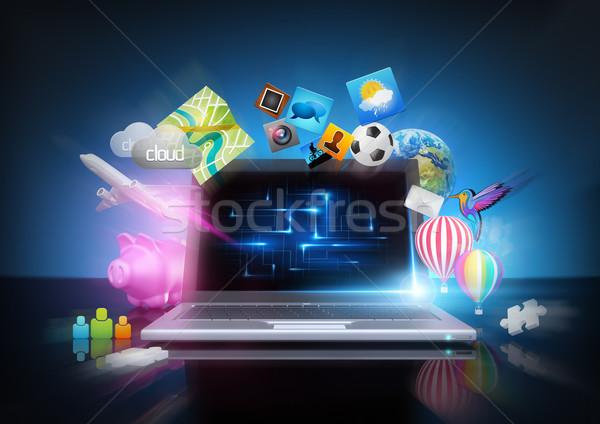 Modern Technology Stock photo © solarseven