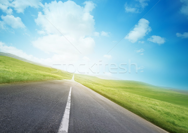 Open Road Stock photo © solarseven