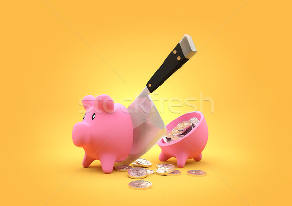 Sliced Savings Stock photo © solarseven