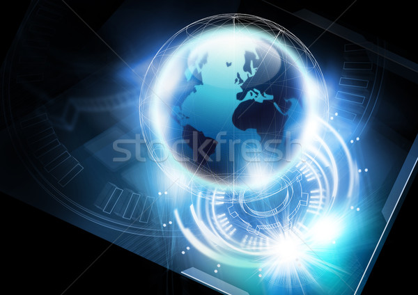Global Communication Concept Stock photo © solarseven