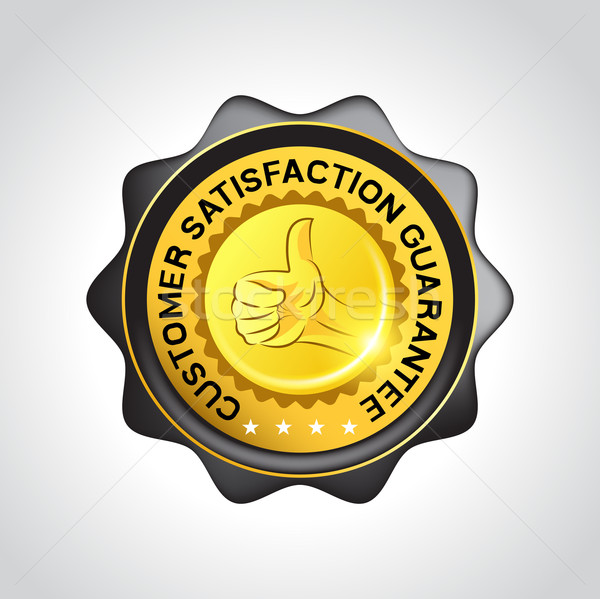 Customer Guarantee Vector Badge Stock photo © solarseven