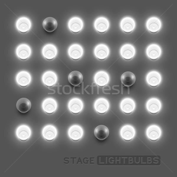 Vector Lightbulbs Stock photo © solarseven