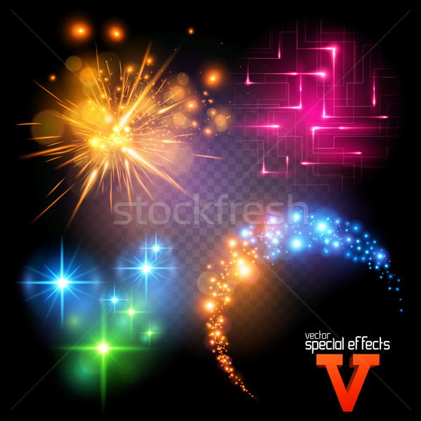 Vector Special Effects Set 5 Stock photo © solarseven